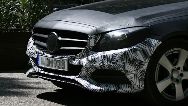 2014 Mercedes-Benz C-Class spied 6