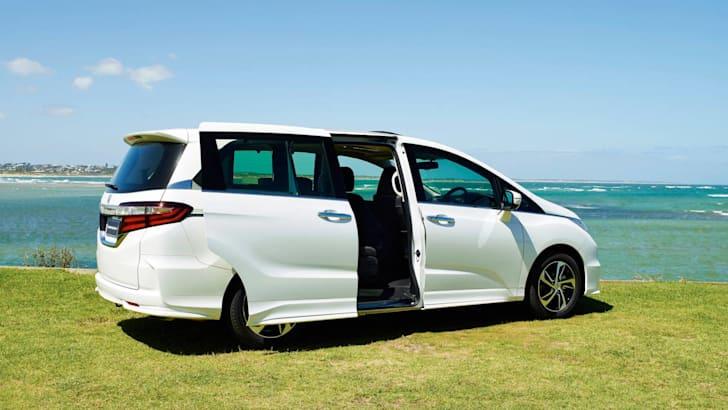 Odyssey rear