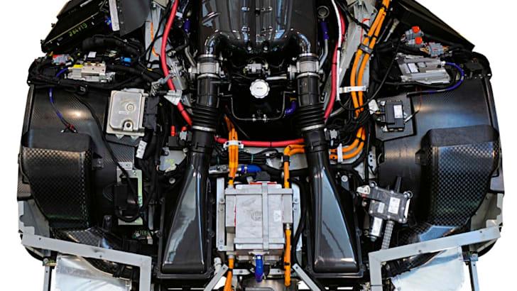 Ferrari F70 Engine Bay