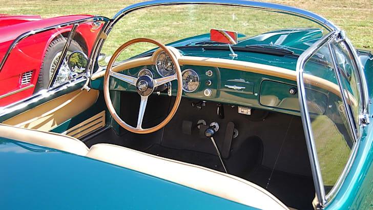 Full restored Lancia Aurelia B24 Spider America interior