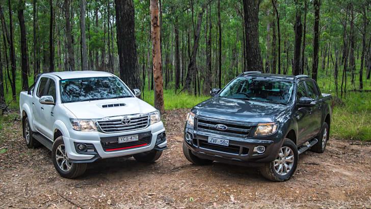 Toyota HiLux v Ford Ranger_7