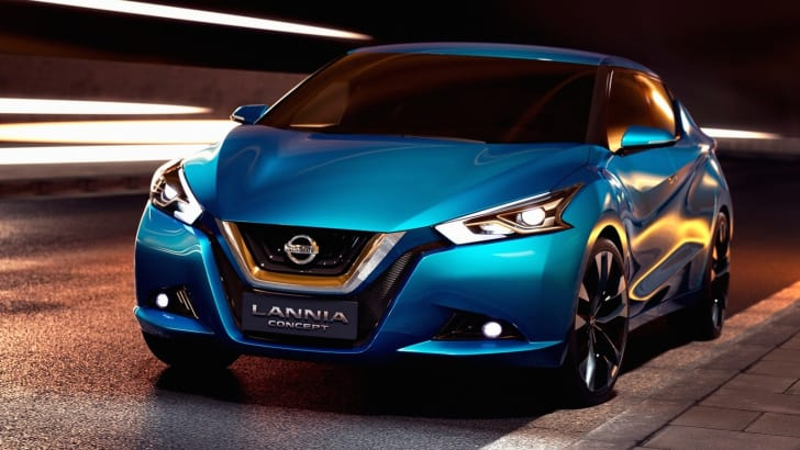 Nissan Lannia concept sedan aimed at young Chinese buyers ...