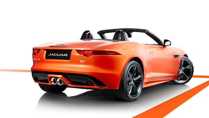 Jaguar F-Type S - Firesand 2