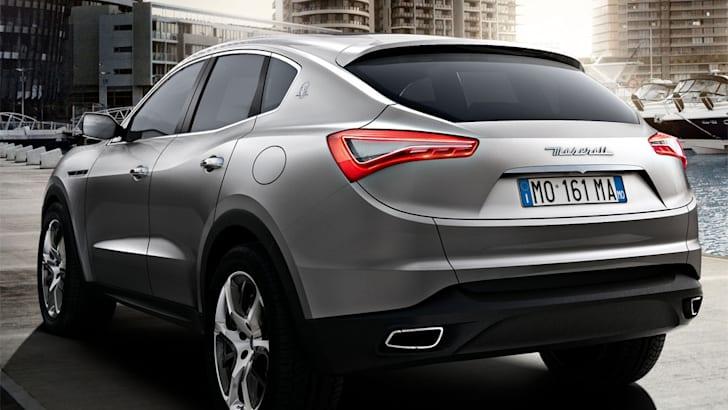 Maserati Kubang concept rear