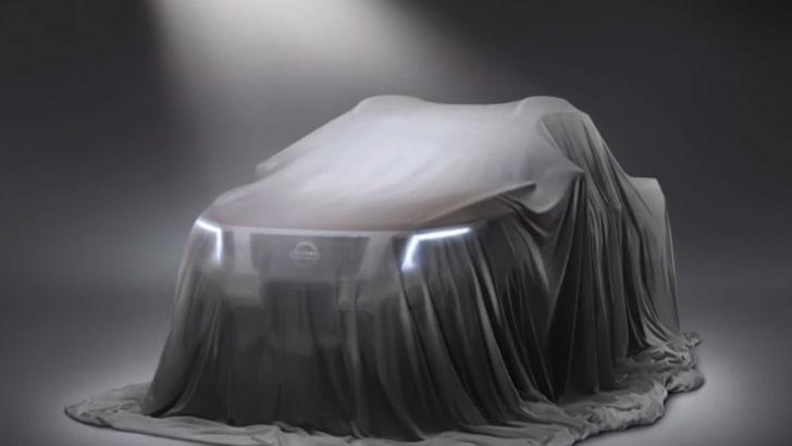 Nissan Navara teaser