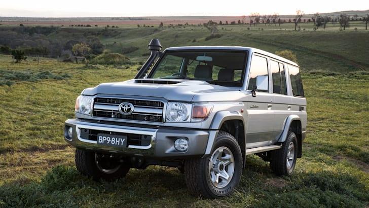 2016 Toyota LandCruiser 70 Series Wagon GXL