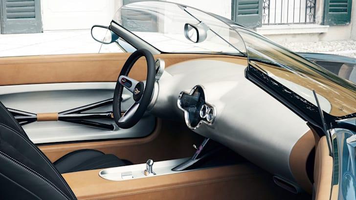 Mini Superleggera Vision interior