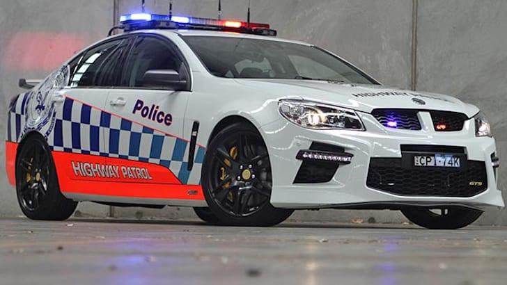 hsv-gen-f-gts-police-car