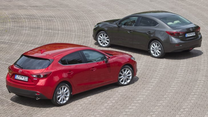 Mazda 3 Hatch and Sedan