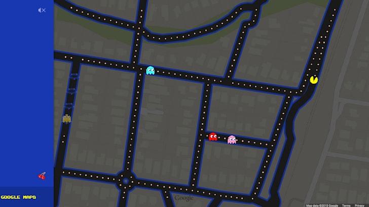 Google Maps - Pac-Man
