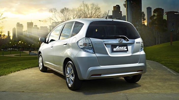 Honda Jazz Hyrbid - 2