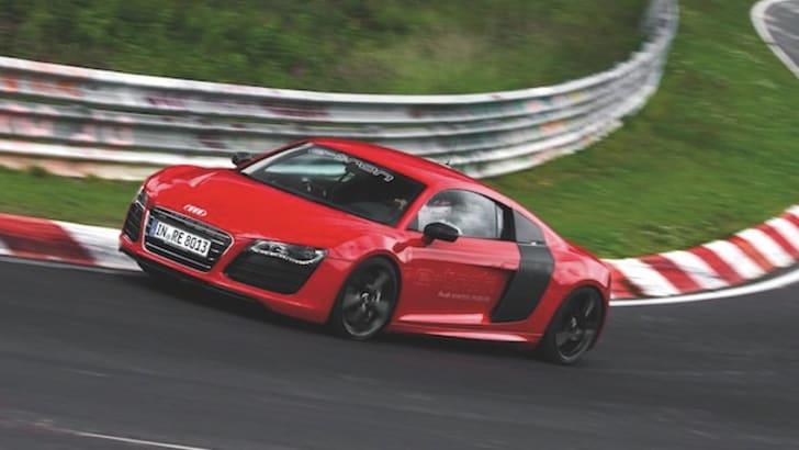 Audi R8 e-tron - Nurburgring Time 3