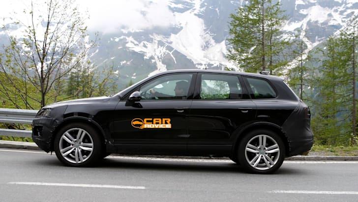 Volkswagen Touareg Facelift Spied - 5