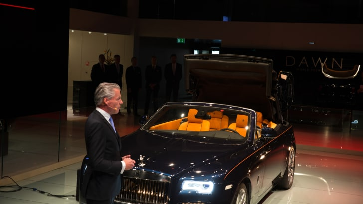 Rolls Royce Dawn - 2015 IAA September 17 - 27, 2015, Frankfurt, Germany