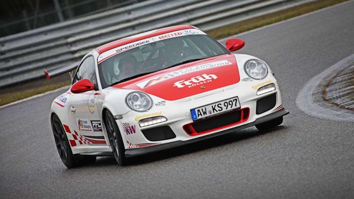 The Nurburgring expreinece: Renualt Megane RS26502