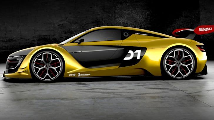 Renault R.S. 01 - side