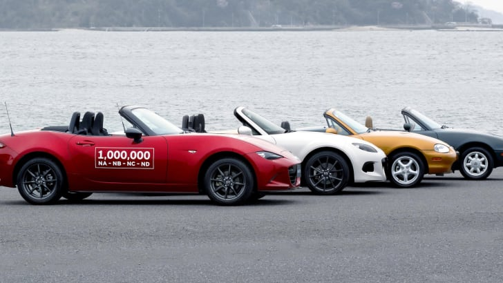 One-millionth Mazda MX-5 - 1