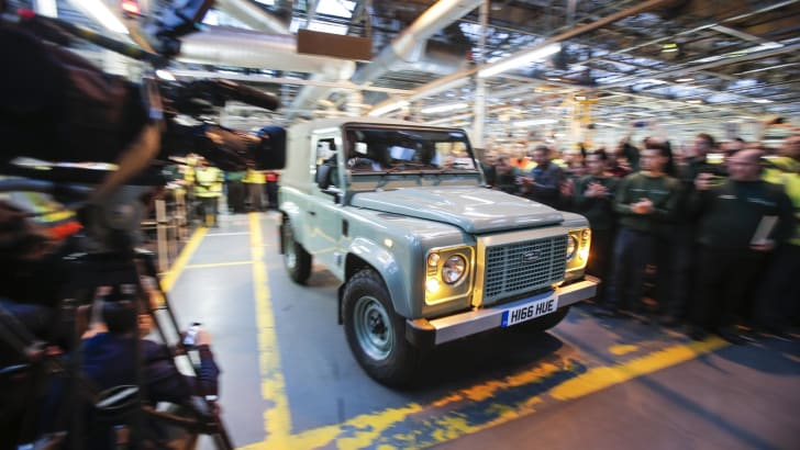Land Rover Defender farewell event_6