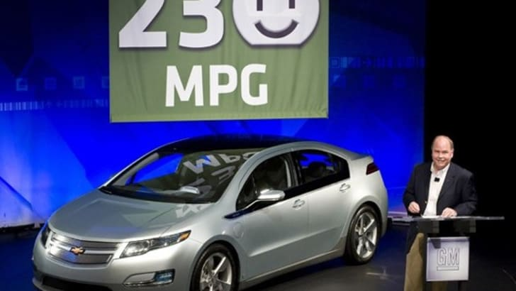 Chevrolet Volt nabs 230mpg rating from EPA