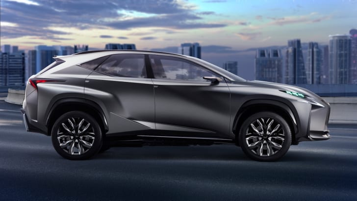 Lexus has released details of a new 2.0L turbo drivetrain in its LF-NX concept