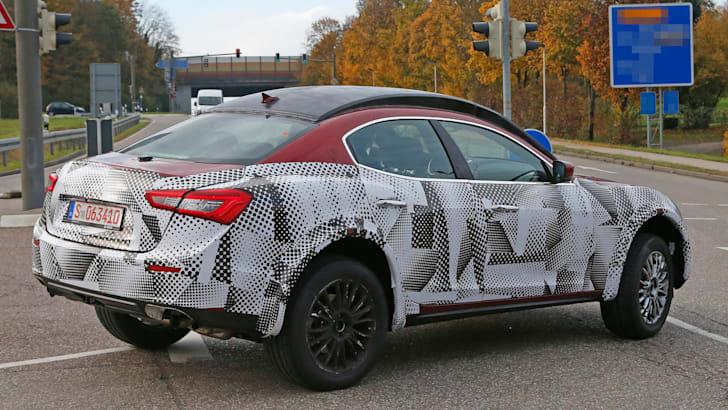 Maserati SUV mule 6
