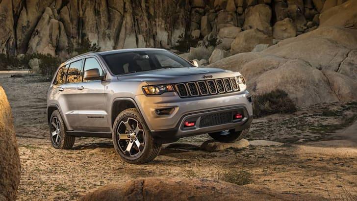 2017 Jeep® Grand Cherokee Trailhawk