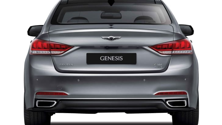 2014 Hyundai Genesis rear
