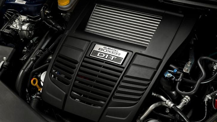 MY15 Subaru WRX 2.0-litre DIT Boxer engine.