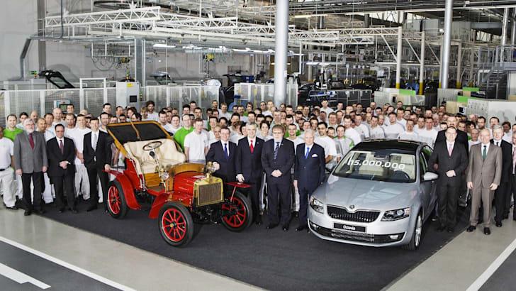 Skoda produces 15 million vehicle