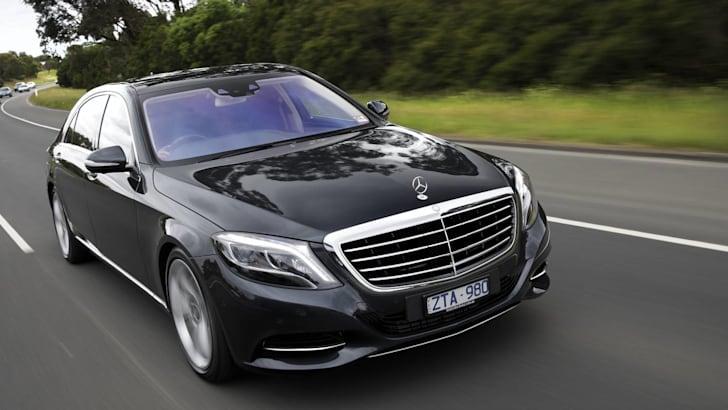 Mercedes-Benz-S-Class-driving