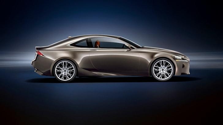 Lexus LF-CC concept profile