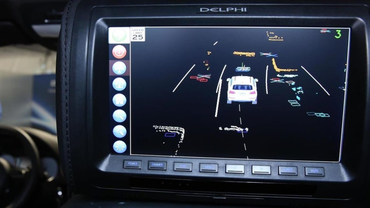 delphi-roadrunner-audi-sq5-screen