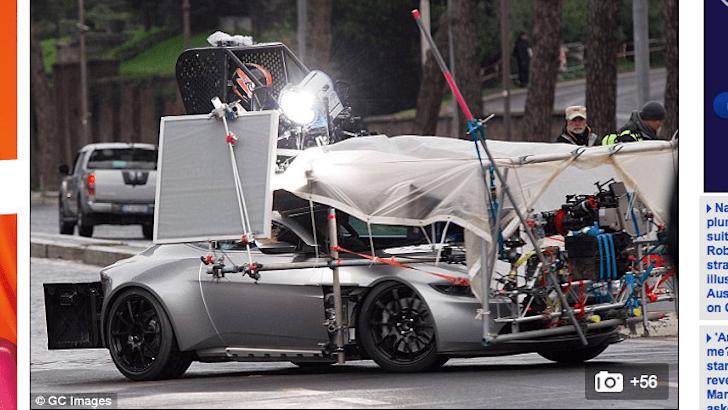 James Bond 007 Spectre with Daniel Craig