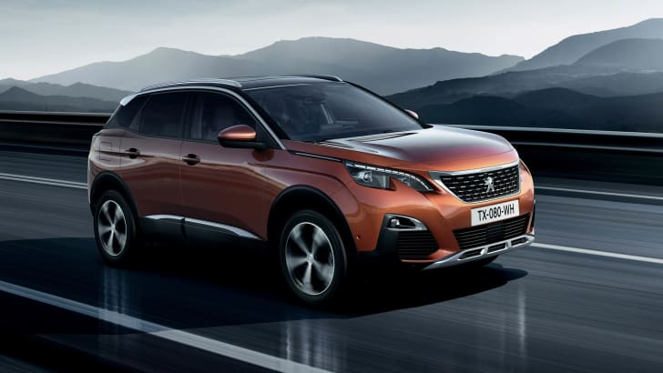 2017 Peugeot 3008 - cropped