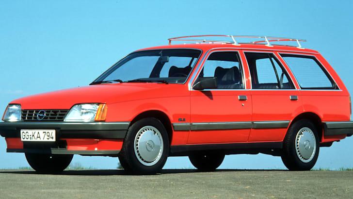 Opel Rekord E '82, Caravan, GLS, 1982-1986