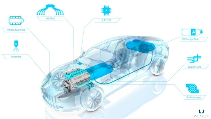 Aston Martin Rapide S Hybrid Hydrogen1