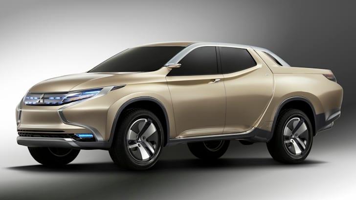 Mitsubishi GR-HEV front