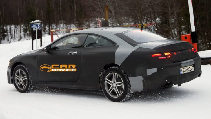Mercedes-Benz S-Class Coupe Spied - 7