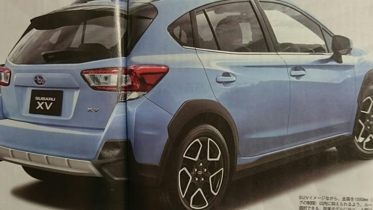 2017 Subaru XV leaked in Japanese media | CarAdvice