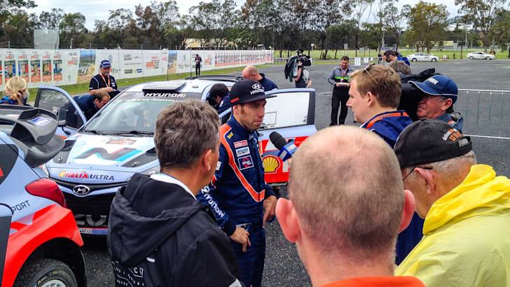 WRC Rally Australia 2014 - 1