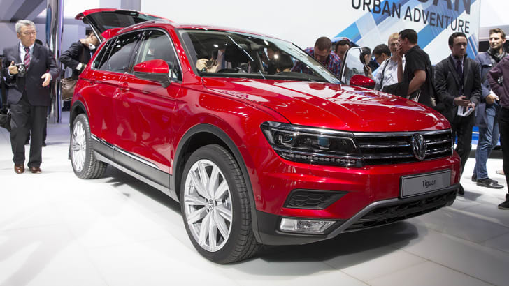 Volkswagen Tiguan - 2015 IAA September 17 - 27, 2015, Frankfurt, Germany