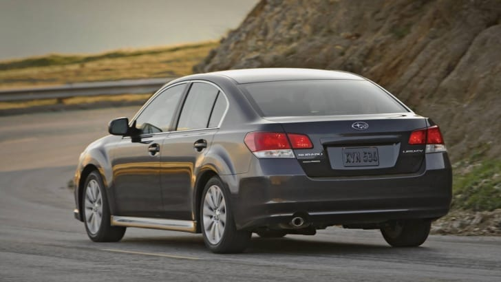 US-spec 2009 Subaru Legacy revealed
