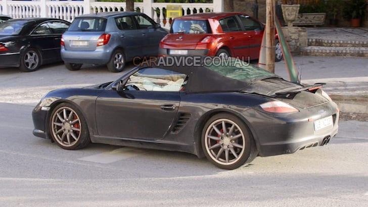 2010 Porsche Boxster Speedster spied