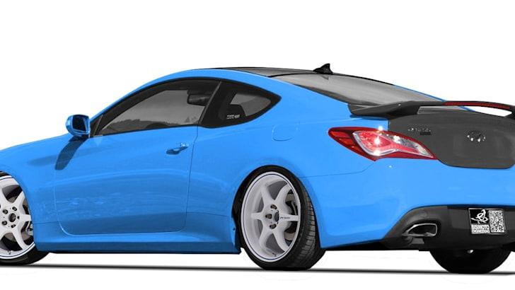 Hyundai Genesis Coupe SEMA Concept - 2