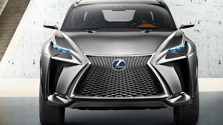Lexus NX concept front