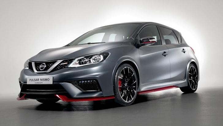 Nissan Pulsar Nismo concept - front