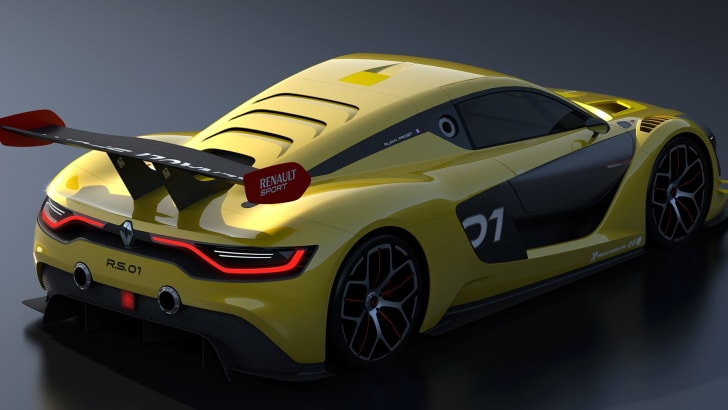 Renault R.S. 01 - rear