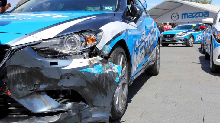 Mazda 6 Celebrity Challenge - 20