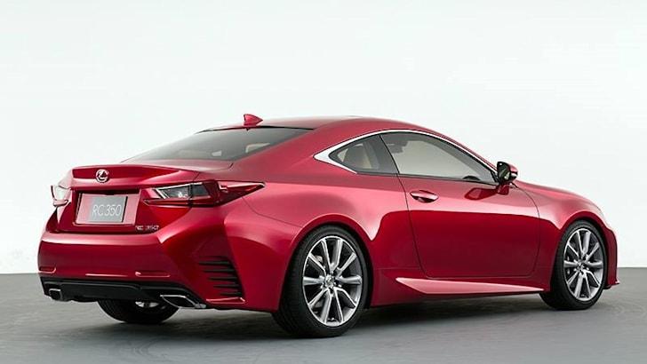 Lexus RC New - 5