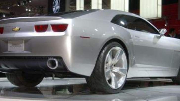 Chevrolet Camaro Sports Coupe Rear